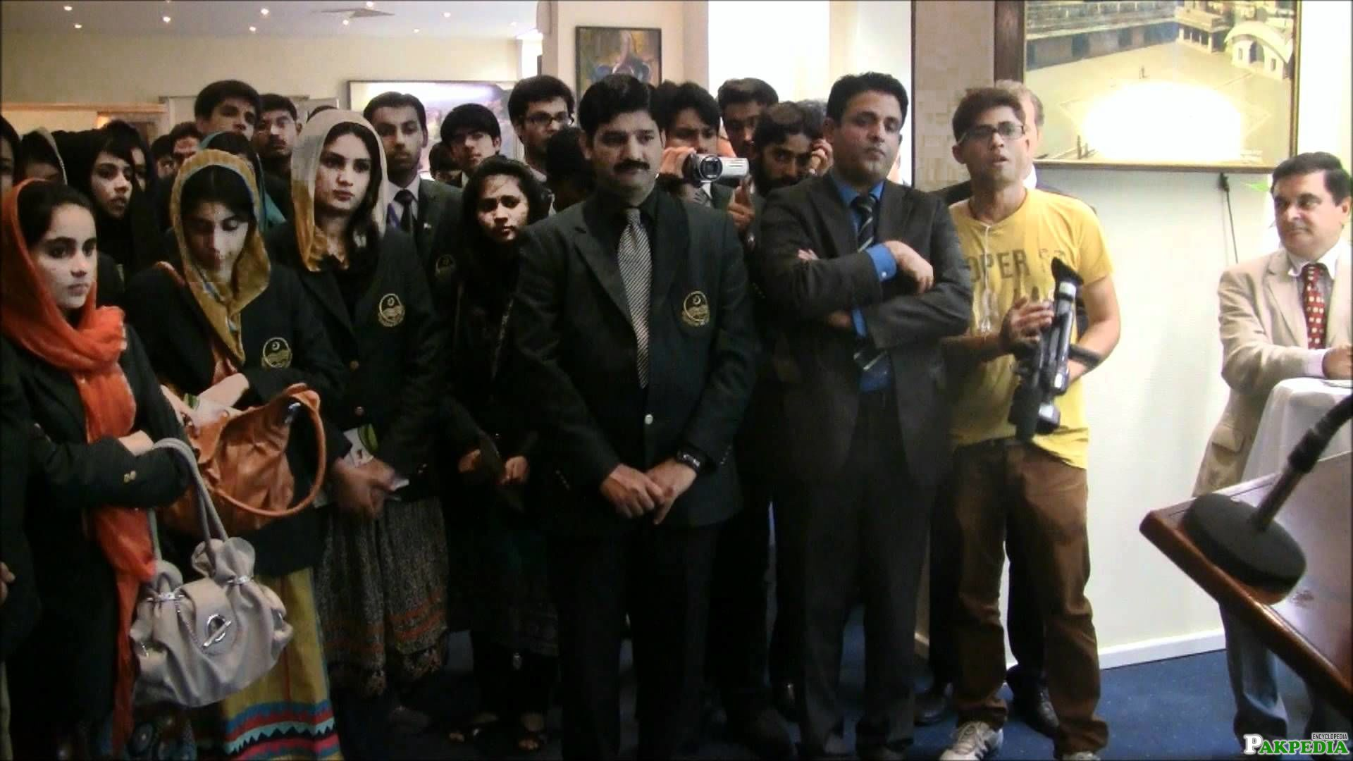 Students visited the Embassy Of Germany In Pakistan