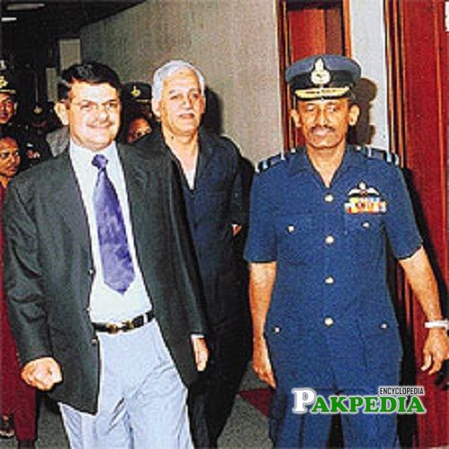 Kaleem Saadat was promoted as the air chief on March 20, 2003