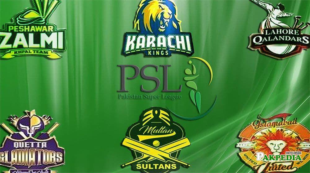 PSL Teams