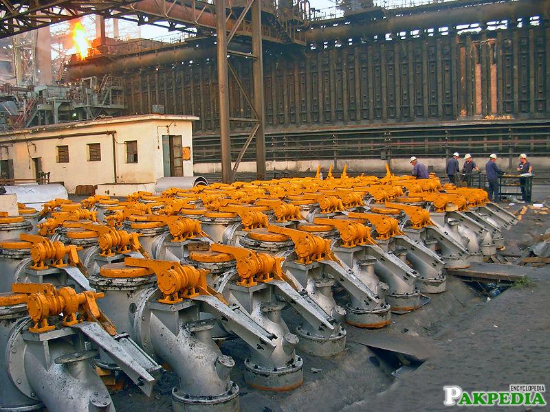Pakistan Steel Mills Machinery