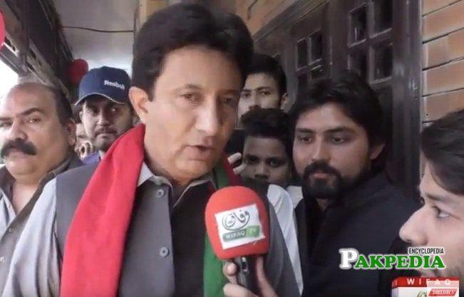 Chaudhry Muhammad Adnan joined Pakistan Tehreek e insaf