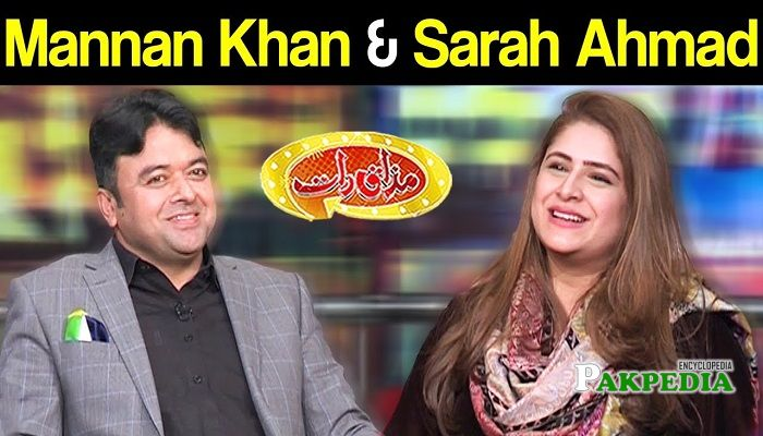 Sarah Ahmad in Mazak Raat