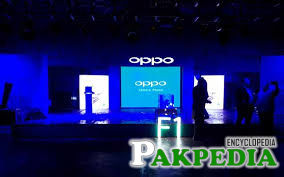 OPPO launches the first product OPPO F1 of their new F Series in Pakistan.