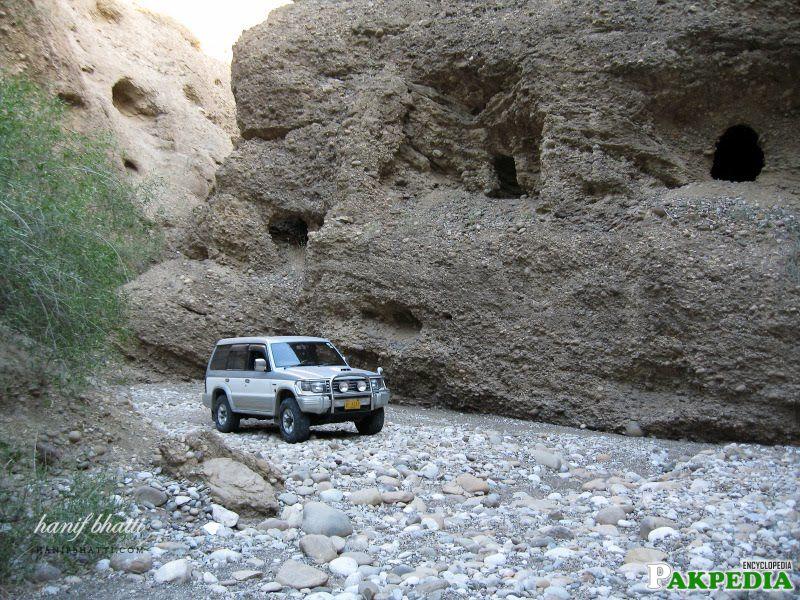 Cave Dwellings of Gondrani
