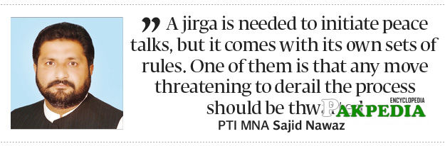 SN's statement on Jirga