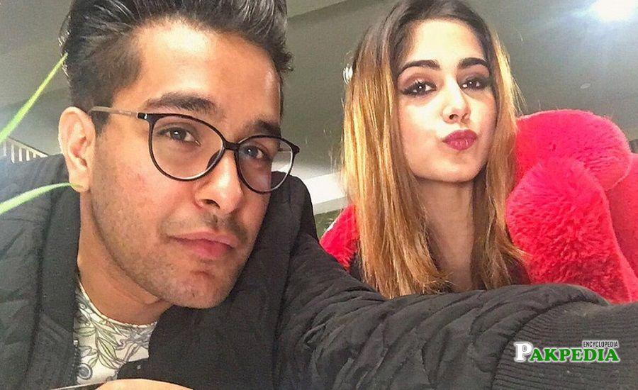 Asim Azhar and Aima baig