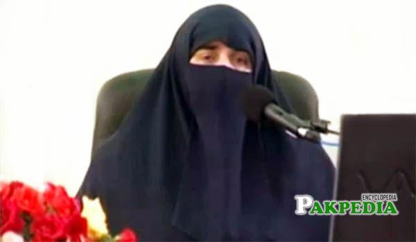 Farhat Hashmi as an iconic figure