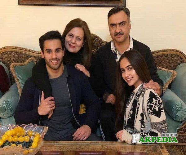 Ameer Gilani Family