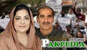 Anusha Rehman and Saad Rafique