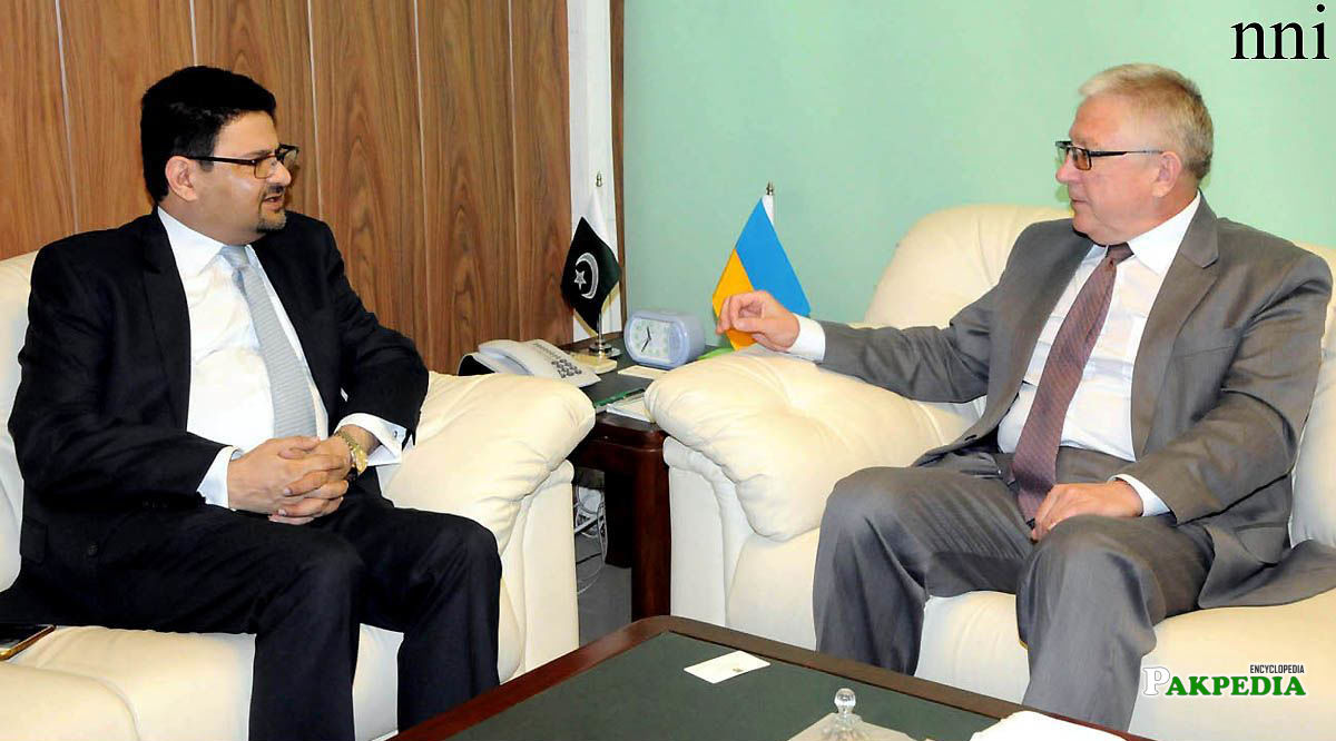 With Embassador of Turkey