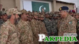 COAS Bajwa visits South Waziristan Agency