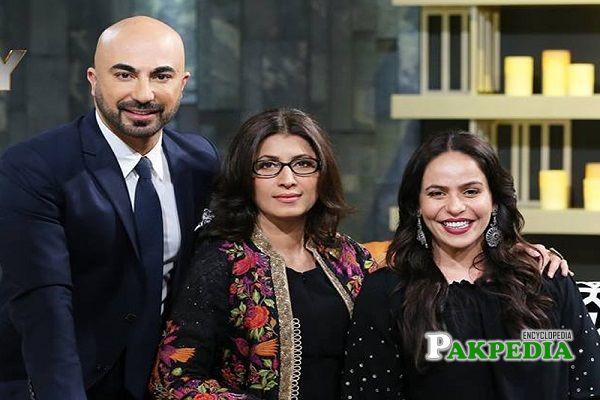 Zainab Qayyum on HSY show