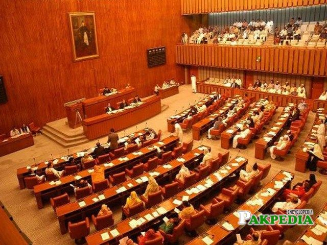 The Senate hoouse of Government of Pakistan