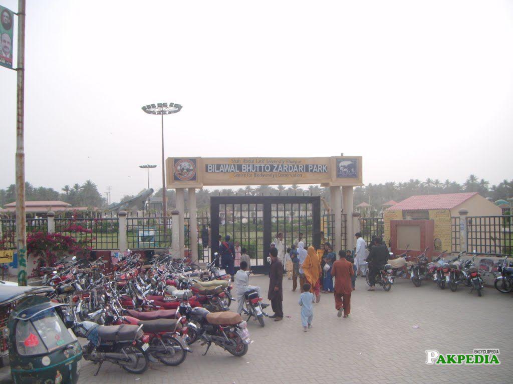 Bilawal Bhutto Zardari Park Khairpur