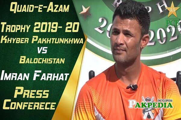 Imran Farhat scores
