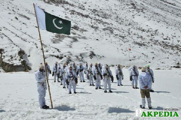 Siachen Glacier comes under Pakistan control