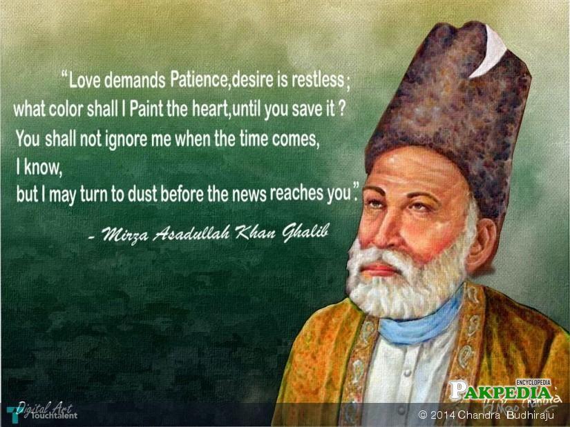 Quotes of Mirza Ghalib