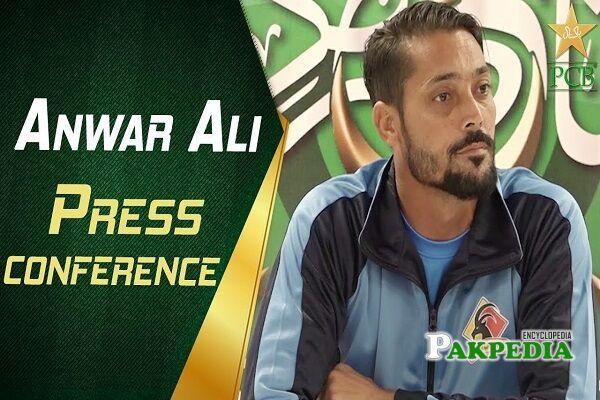Anwar Ali scores