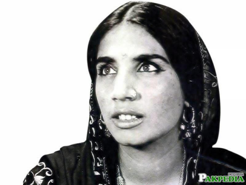 Pakistani folk singer Reshma