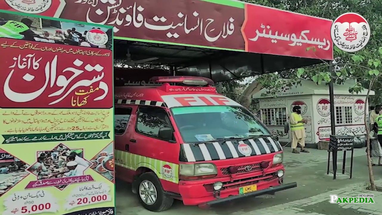 Falah Insaniat Foundation Lahore