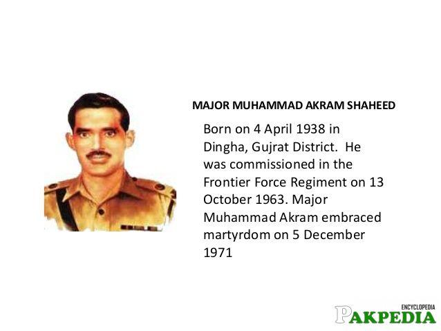 Muhammad Akram Born History