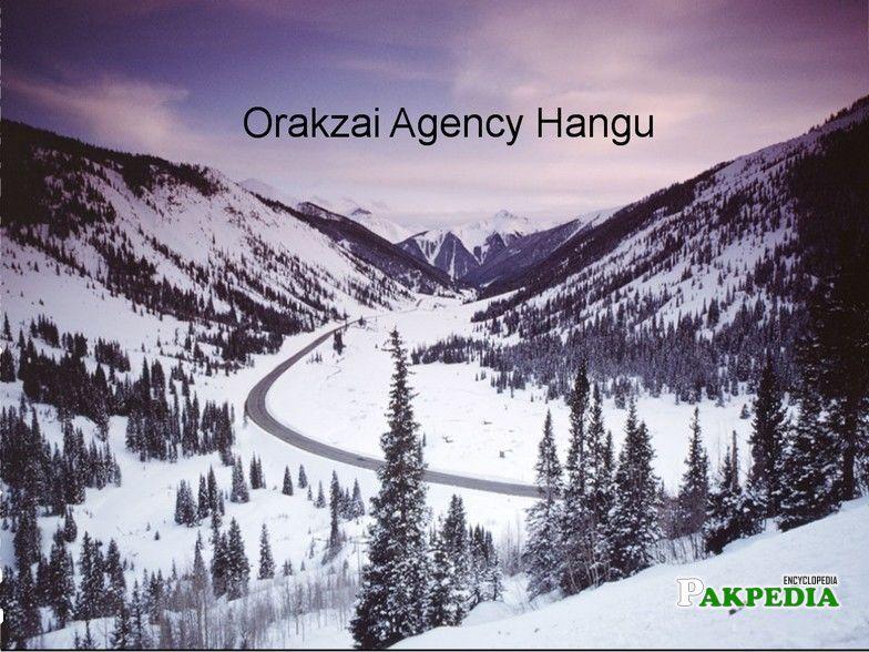 An photo of Hungo place in Orakzai Agency