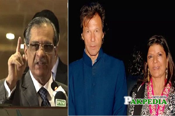 Aleema Khan and Imran Khan