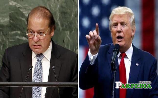 Sajid Tarar arranged Telephonic call btw Nawaz and Trump