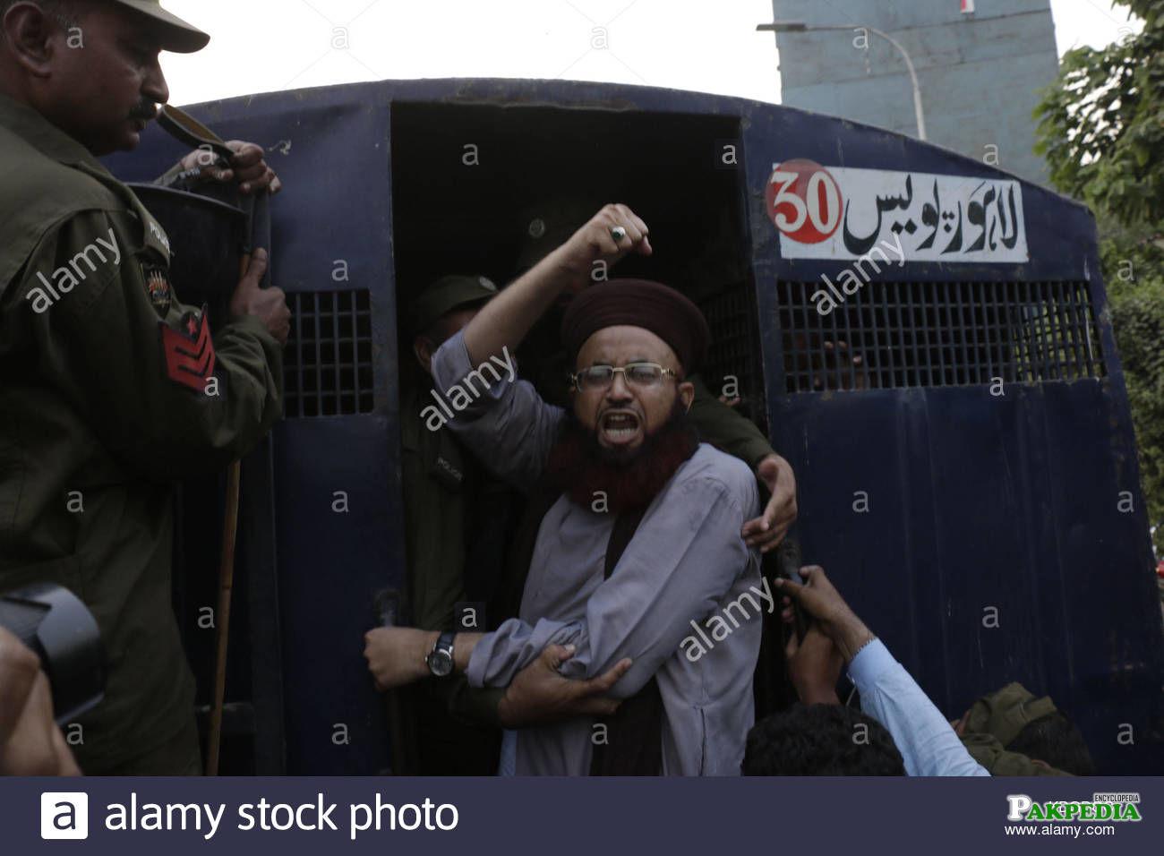 Police arrested Dr jalali in case of violation