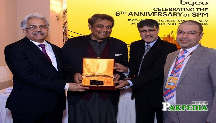 Ali Haider Zaidi at the 6th anniversary of SPM