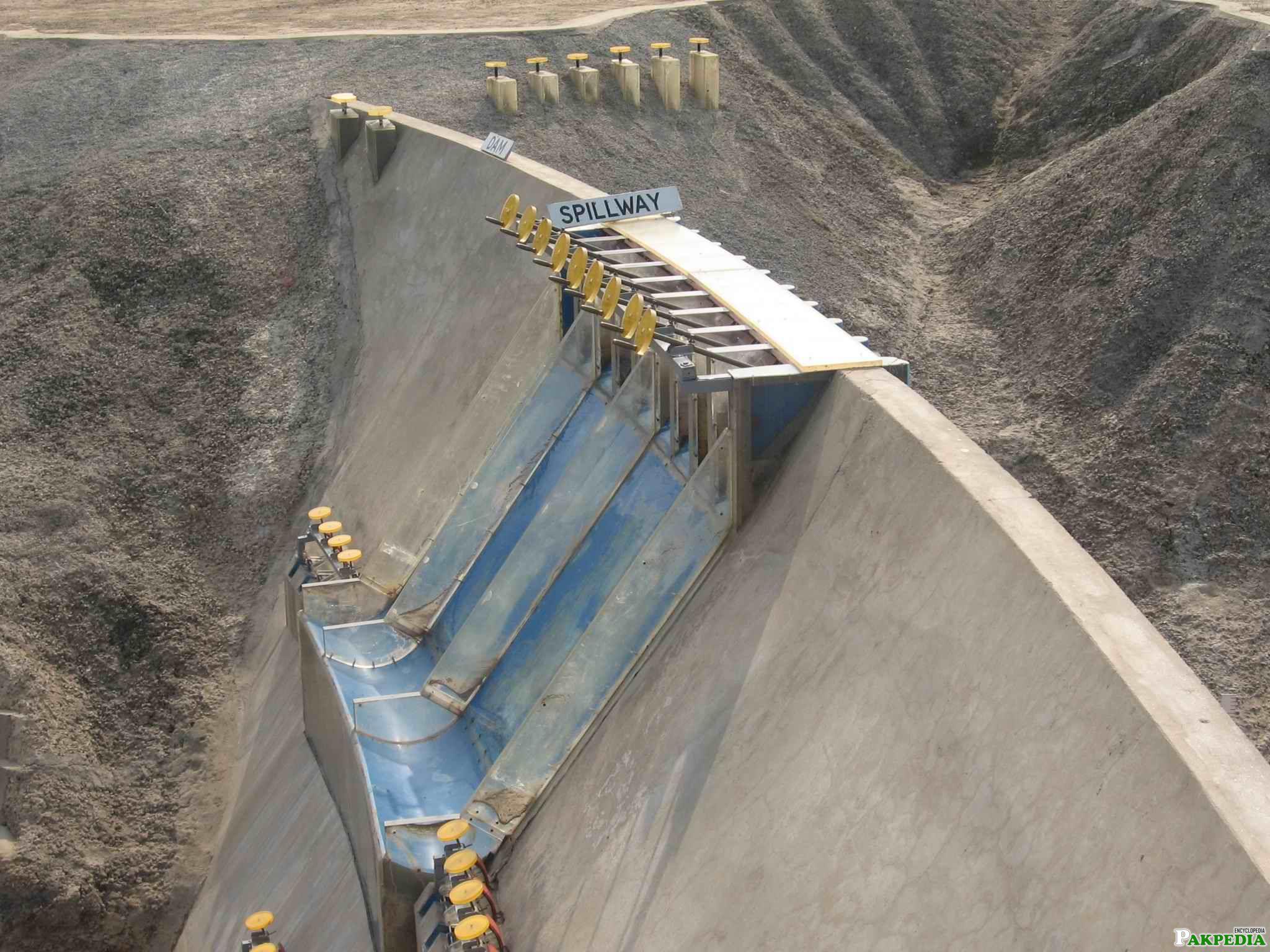 Diamer-Bhasha Dam over view