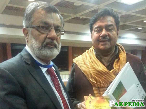 Godil with Acter in India