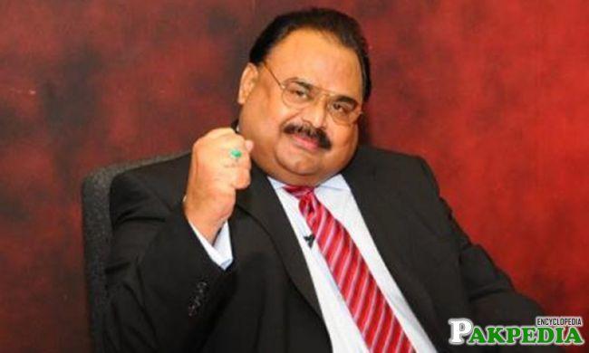 Altaf Hussain Politician