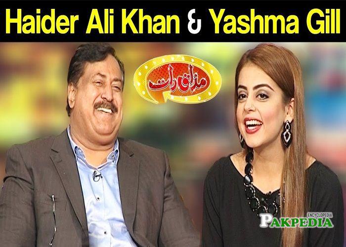 Rai Haider Ali Khan in mazak Raat