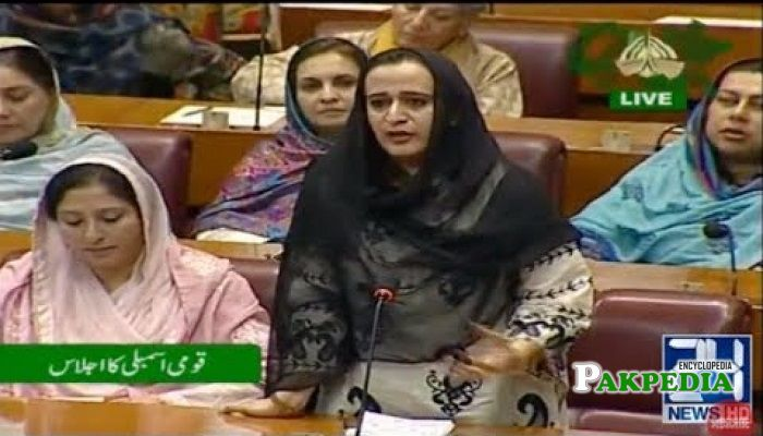 Tashfeen Safdar in National Assembly