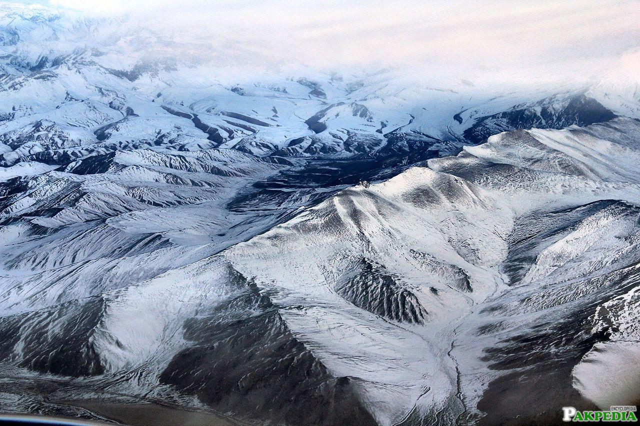 Himalayas after the snow falling