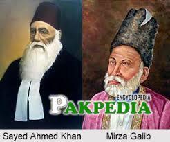 Ghalib and Sir Syed