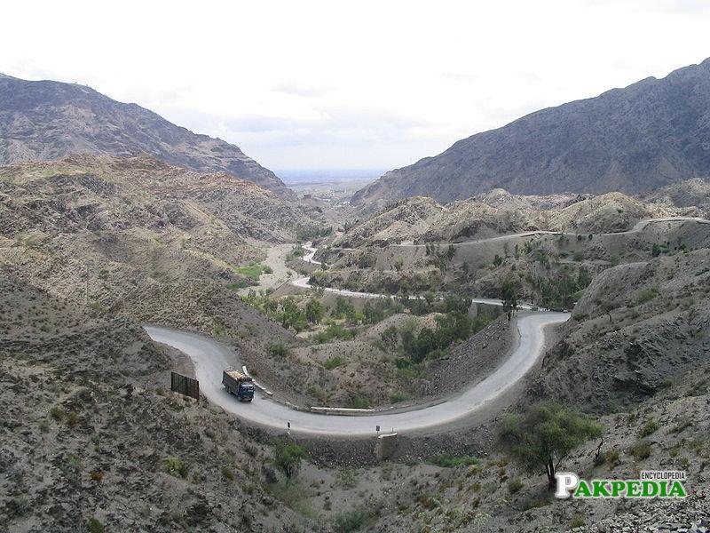 Roads of Kurram Agency