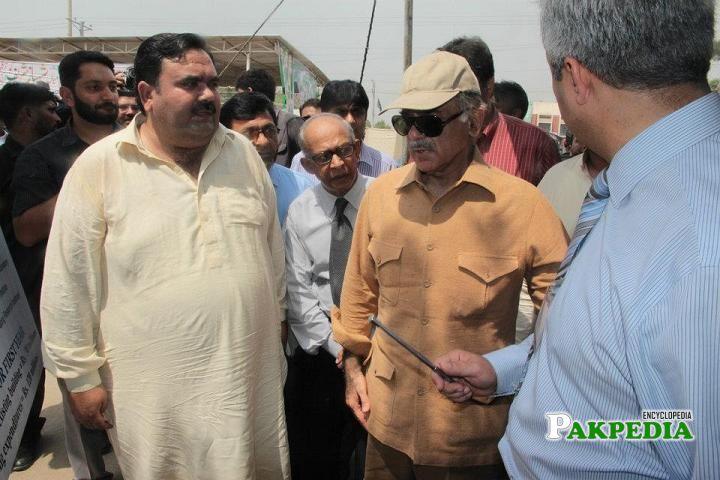 With Mian Shahbaz Sharif