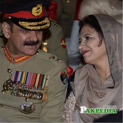 Asim Saleem Bajwa wife
