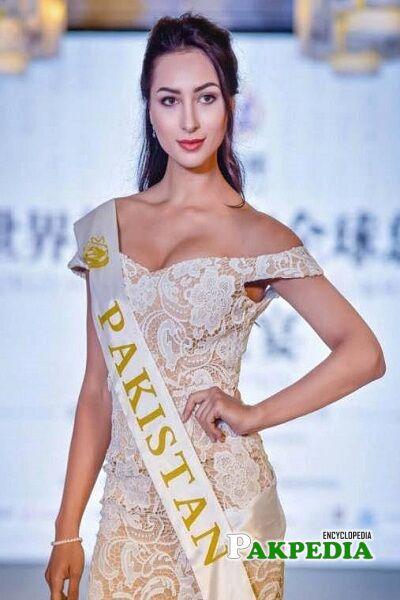 Anzhelika Tahir Miss Pakistan