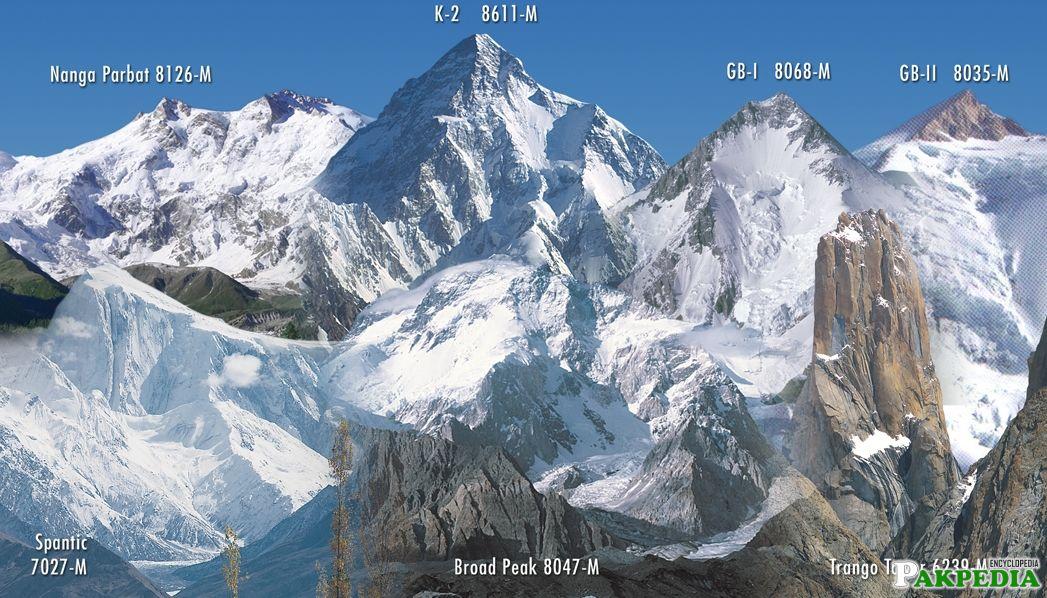 k2 the highest mountain of pakistan