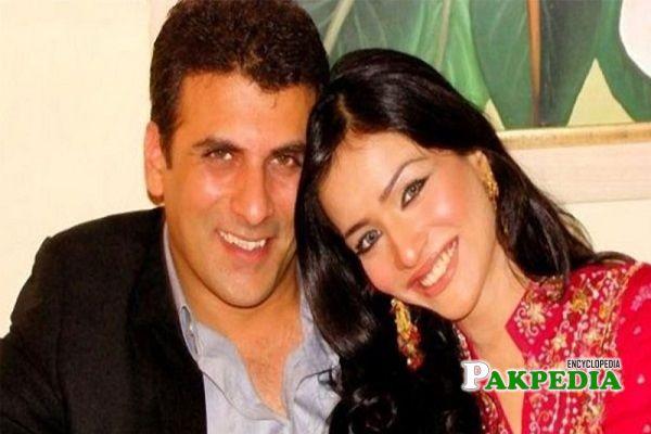 Shamoon Abbasi with Humaima Malik