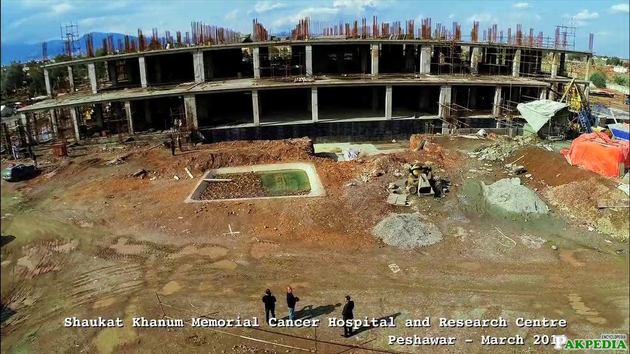 Shaukat Khanum Memorial Cancer Hospital under Construction