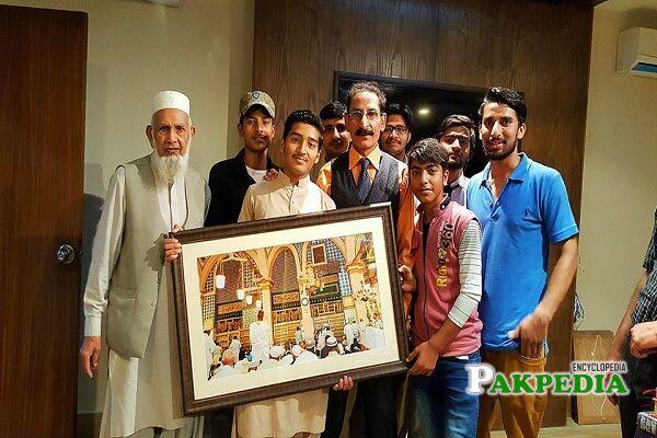 Iftikhar Thakur Family