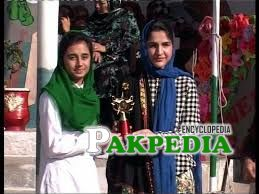 Assistant Commissioner Kohat Ms Gul Bano attended Annual Sports Day as Chief Guest, of female schools in District Kohat organized in GGHS # 3