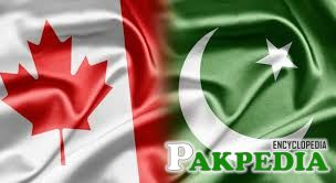 Flags of Canada and Pakistan