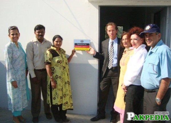 German mission in Pakistan