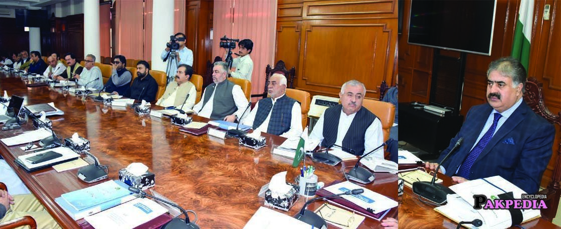 In a Cabinet Meeting