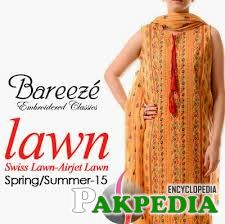 Bareeze (Fashion store Clothing) Lawn Collection